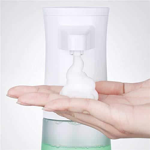 FGFG Dispensador de jabón para Ducha de baño, máquina de jabón con Sensor de Infrarrojos Completamente automático Que Lava el teléfono móvil, para baño, Cocina, Oficina, 350 ml