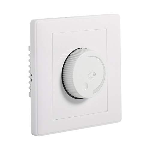 Interruptor de atenuación, interruptor de control de atenuación de uso duradero, interruptor de atenuación giratorio seguro, resistente al desgaste para el hotel en casa para la oficina