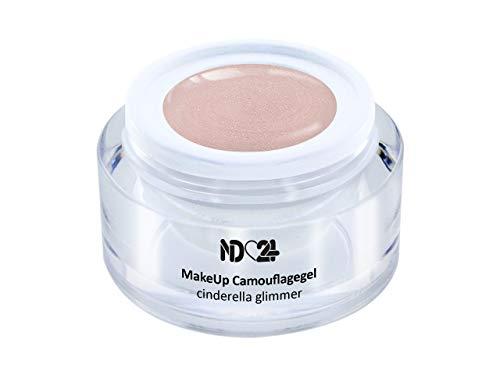 5ml - Make Up CAMOUFLAGE Aufbau - Gel cinderella glimmer - nd24 BESTSELLER - BabyBoomer Naildesign UV/LED Gelnägel Nagelgel - Studio Qualität - MADE IN GERMANY
