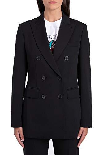 Luxury Fashion | Max Mara Dames 10461899000001 Zwart Elasthaan Blazers | Seizoen Permanent