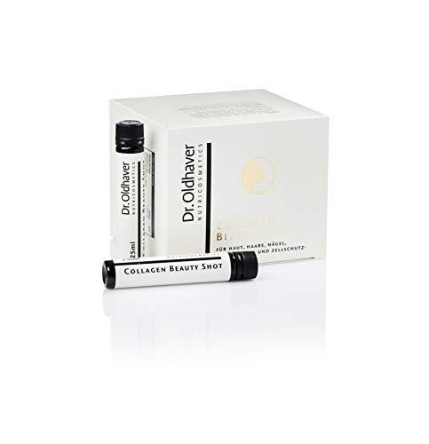 Dr. Oldhaver Collagen Beauty Shot (750ml) 30 x 25ml Trink-Ampullen, Hoch dosiertes, bioverfügbares Kollagen-Hydrolysat, Für Nägel, Haut, Haare, Bindegewebe und Zellschutz, Monatspackung