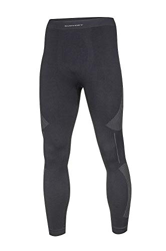 BodyDry 'Caleçon X de Cross de sous-vêtement de Ski Thermiques – Ski – pour Ski Snowboard Roue – sous-Vêtement Moto – sous-vêtements Thermiques XXL Noir