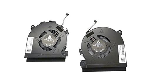 HuiHan sostituzione per HP Spectre X360 15-CH 15-CH011DX 15-CH011NR CPU e GPU Ventola di raffreddamento L17606-001 (C+G)