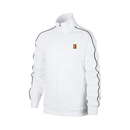 Nike Court Training Jacket Boys White
