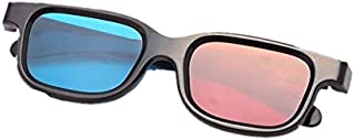 Red-blue 3D Glasses/Cyan Anaglyph Simple style 3D Glasses 3D movie game-Extra Upgrade Style