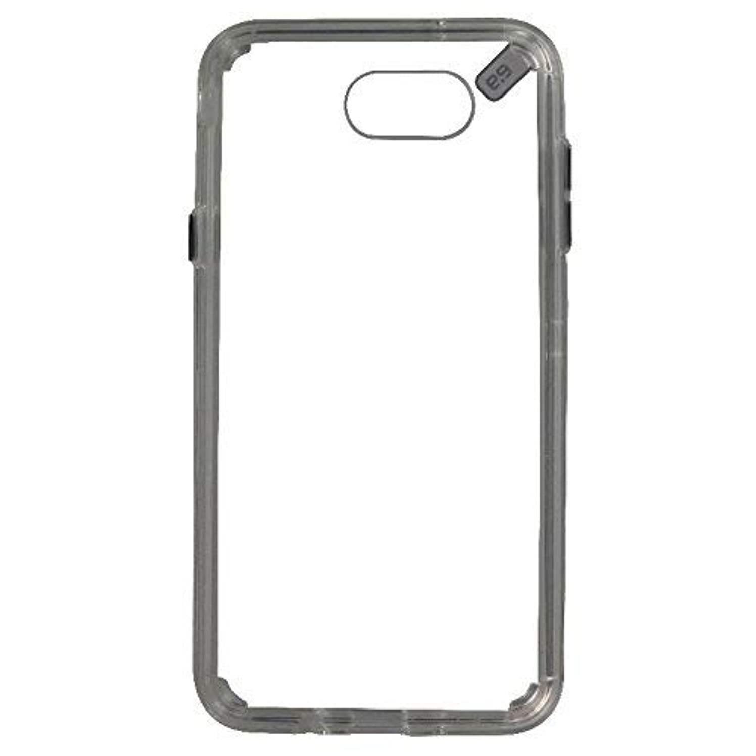 PureGear Slim Shell Pro Series Protective Case Cover for Galaxy J7/J7 V - Clear