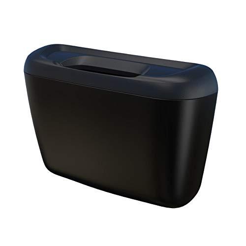 2020 - Caja de basura para coche (multifunción, color: negro)