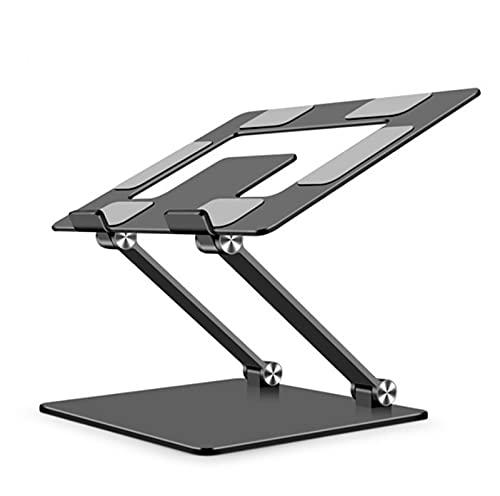 Soporte de Portátil Aluminio Soporte para Laptop Portátil Plegable y Ajustable para Todos Los Portátiles MacBook Portátiles Notebook DELL Lenovo,Gray