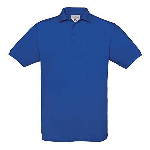 B&C - Piqué Poloshirt 'Safran' XXL,Royal