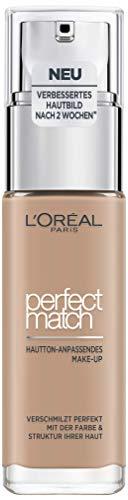 L'Oréal Paris Perfect Match Make-Up 3.R/3.C Rose Beige Liquid Makeup for a...