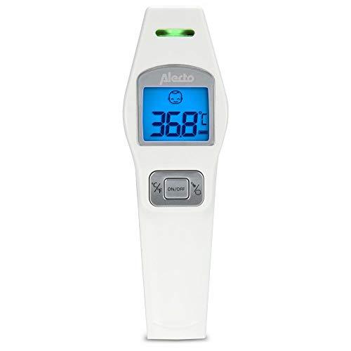 Alecto AL-BC37 Infrarot-Thermometer Vorderseite