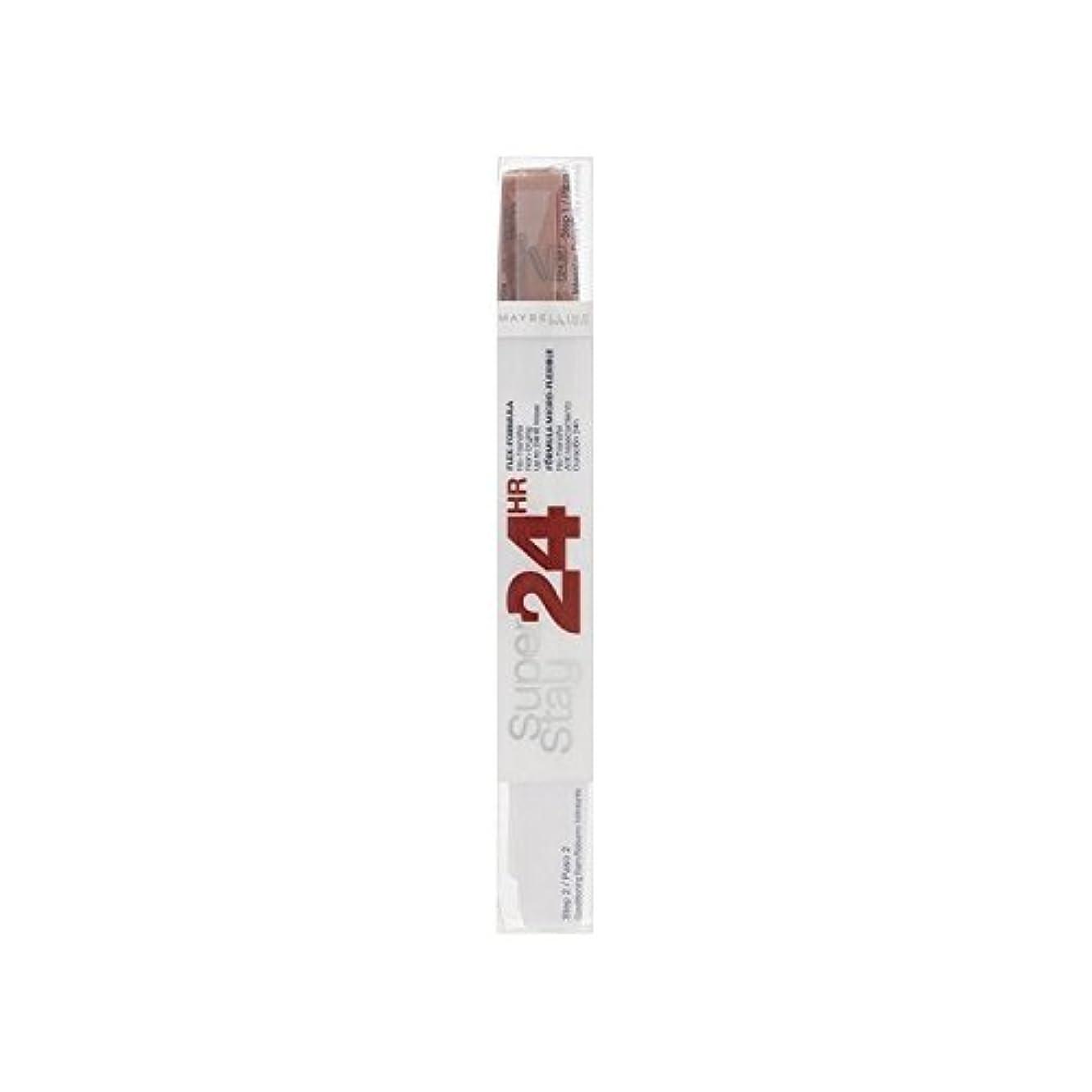 メイベリン24デュアル口紅575ピンクスパイス9ミリリットル x2 - Maybelline SuperStay24H Dual Lipstick 575 Pink Spice 9ml (Pack of 2) [並行輸入品]