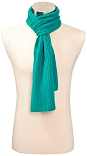 Williams Cashmere Men's 100% Cashmere Solid Knit Scarf, Peacock, One Size (B0087264IK) | Amazon price tracker / tracking, Amazon price history charts, Amazon price watches, Amazon price drop alerts