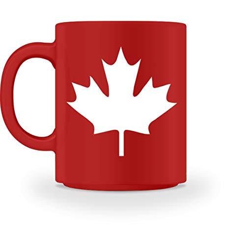 Kanada Canada Ahorn Blatt Leaf - Tasse -M-Rot