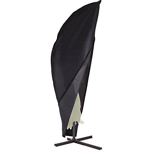 GREADEN Housse de Protection pour Parasol de diamètre 300 cm - Housse étanche en Oxford avec revêtement Hydrofuge 265 * 100 * 70cm - Anti-UV - Anti-Pluie - Anti-poussière