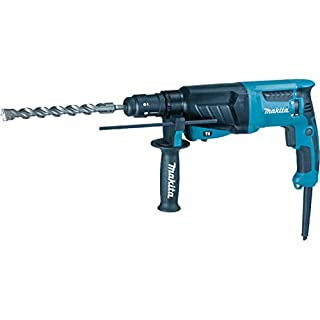 Makita HR2630T 240 V SDS Plus 3-Mode Rotary Hammer Drill with Quick Change Chuck in a Carry Case (B018HYSAWU) | Amazon price tracker / tracking, Amazon price history charts, Amazon price watches, Amazon price drop alerts