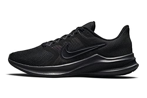 Nike Downshifter 11, Scarpe da Corsa Donna, Black Dk Smoke Grey Particle Grey, 42 EU