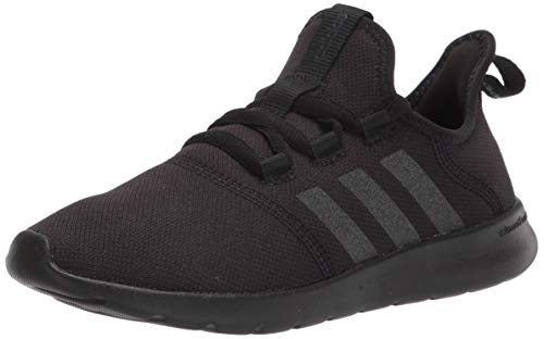 adidas Women's Cloudfoam Pure 2.0 Running Shoes, Black/Black/Black, 10
