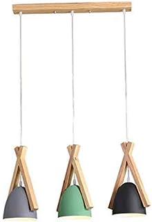 Szlight Lámpara Colgante Lampara Techo De Restaurante Nórdico Tres Comedor Moderno Mesa De Comedor Bar Lámpara De Comedor Lámparas De Color Macaron Sala De Estar