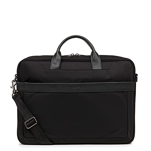 LANCASTER PARIS Basic & Sport Large Men's Laptop Cace 38 Cm Black
