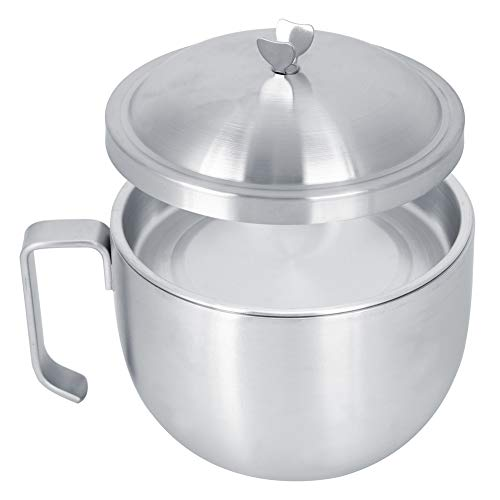 Noodle Bowl 1000ml Insulated Bowls Large Capacity Stainless Steel for Sala for Food Mixing