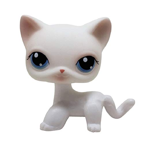 JiYanTang Pet Shop Lps Toy Action Standing Collection Short Hair 41 Pink Cat Big Dog Garden Dog Dog Bassotto Lps Cane Bassotto 112