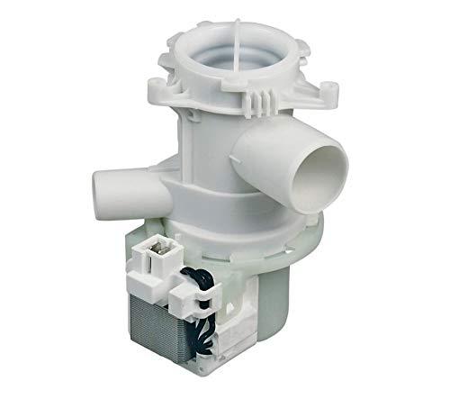 Ablaufpumpe mit Pumpenkopf und Sieb für Waschmaschine Beko 2840940200 Arcelik