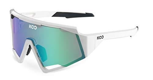 Koo - Gafas de ciclismo para hombre Espectro (blanco y verde)
