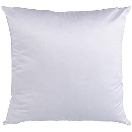 sublimation supplies pillow case cover lot 8pc 16x16 cream zipper closure sale
