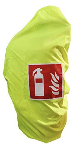 Gitterhaube gelb Schutzhaube bis 6Kg Feuerlöscher Haube Abdeckung Überzug neon von MBS-FIRE®