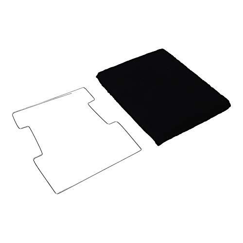 LUTH Premium Profi Parts aktief koolstoffilter filter afzuigkap geschikt voor Elica Type 20 Whirlpool 484000008571 AEG Electrolux 9029793560 Ikea