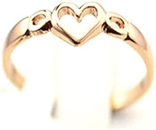 خاتم نسائي مطلي بالذهب مقاس 7 أمريكي مطلي بالذهب مقاس 7 خاتم نسائي مطلي بالذهب