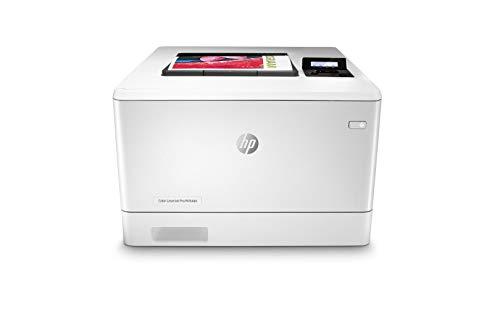 HP Color LaserJet Pro M454dn Farblaserdrucker (Laserdrucker, LAN, Duplex, Airprint) weiß