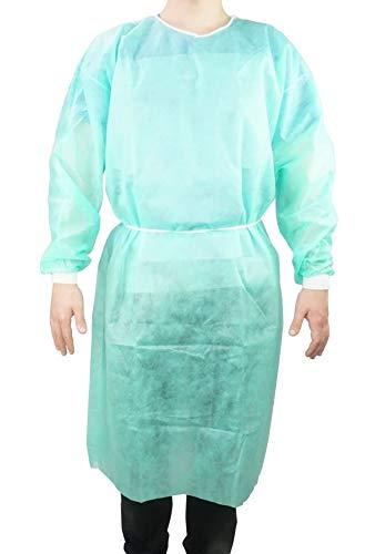 ATC Handel 1 camice di protezione unisex OP di ATC Handel – Tuta protettiva, camice isolante, rivestimento in tessuto non tessuto.