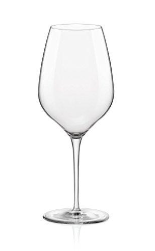 Bormioli Rocco Inalto Tre Sensi Copas de Vino extra grandes - caja de regalo de 6 vasos - 650 ml
