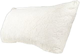 Room Essentials174; Fur Body Pillow Cover - White
