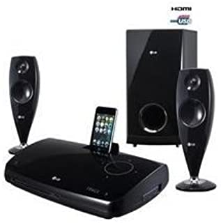 LG HT33S 2.1 ch DVD Home Cinema System with iDock