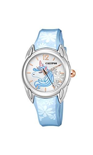 Calypso Reloj Analógico para Muchachas de Cuarzo con Correa en plástico K5734/B