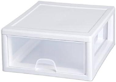 STERILITE 23018006 16 Qt Stacking Storage Drawer/Box - Quantity 3