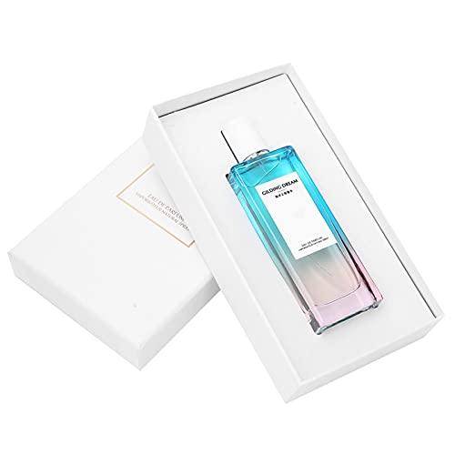 Perfume de fragancia floral afrutado para mujer, ligero y elegante perfume refrescante de larga duración para regalo del día de San Valentín (50 ml)