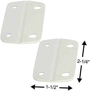Smaller Replacement Coleman Cooler Hinges fits most 40-68 Qt Chest Coolers,  2-pk