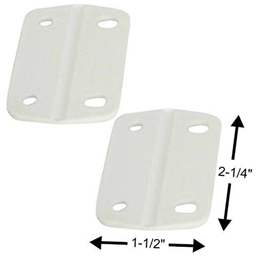 Coleman Pequeñas bisagras de Repuesto para refrigerador Adapta a la mayoría de refrigeradores de Pecho de 40 – 68 qt, 2 Unidades