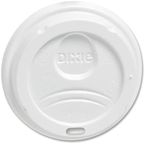 Dixie Foods 9538DXPK Perfect Touch Dome Lids, for 8 oz., 100 PK by Dixie