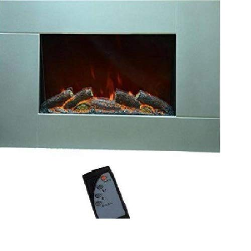 Chimenea de pared con mando a distancia