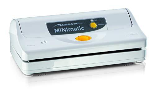 Magic vac V051PK2 Mini Machine à Emballer, Blanc, 29cm x14cm x9cm