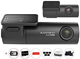 BV-DR590W-2CH-16 + BV-PSPMP 1080P FHD/FHD Front/Rear Dash Cam with 16GB Micro SD Card and Power Magic Pro Hardwire Kit
