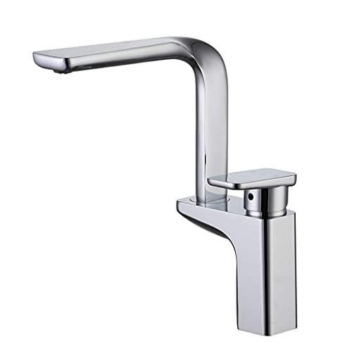 BALLYE Drinking Water Filter Tap Single Trough All Copper Cold And Hot Kitchen Dish Faucet Universal Rotary Unleaded