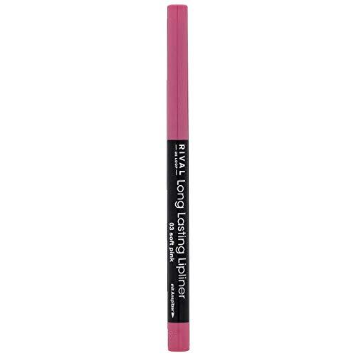Rival de Loop Long Lasting Lipliner 03 soft pink rosa soft pink, 1 Stück