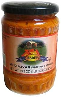 Ajvar Mild Vegetable Spread (gradina) 19.3oz