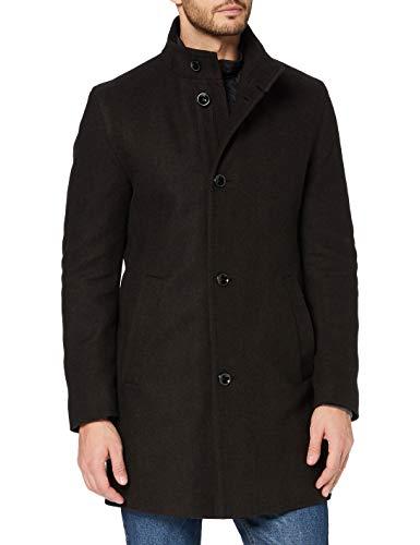 Bugatti Herren 621428-64023 Wollmantel, braun, 60